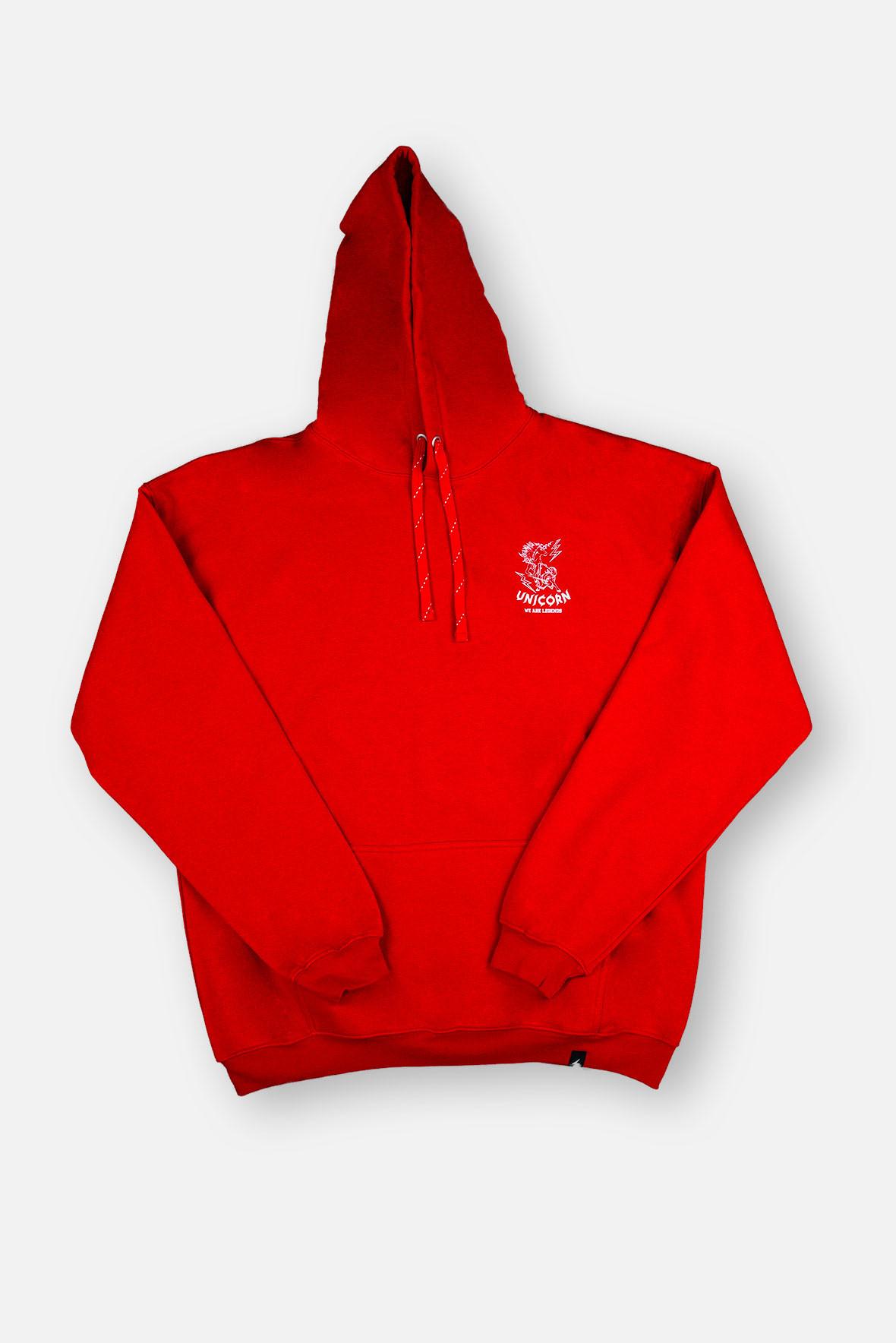 Unicorn Sweatshirt Rouge Brique