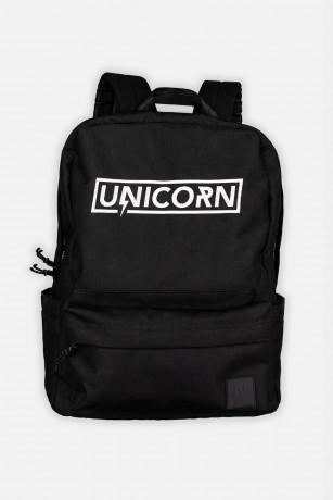 Schoolbag sac d'école Fermé vue de face Unicorn