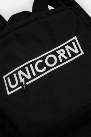 Schoolbag sac d'école Zoom sur le Logo Brodé Unicorn