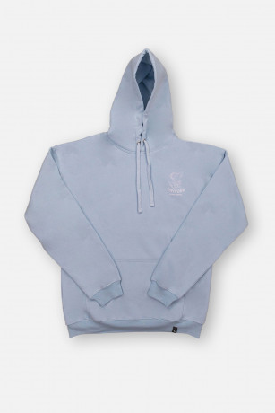Sweat Classique Light Blue Vue de face Unicorn