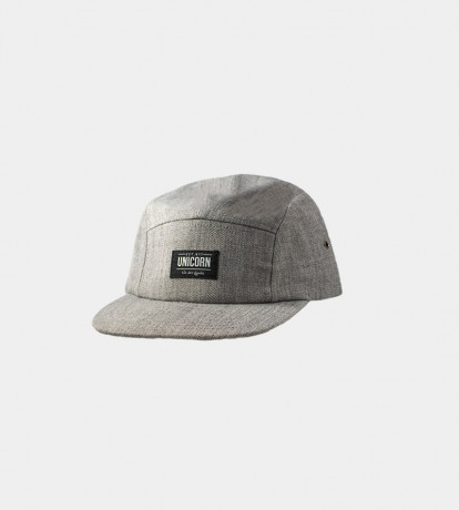 CASQUETTE FIVE PANEL GRISE