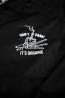 Coach Jacket Don't Panic Noire Zoom Logo Unicorn