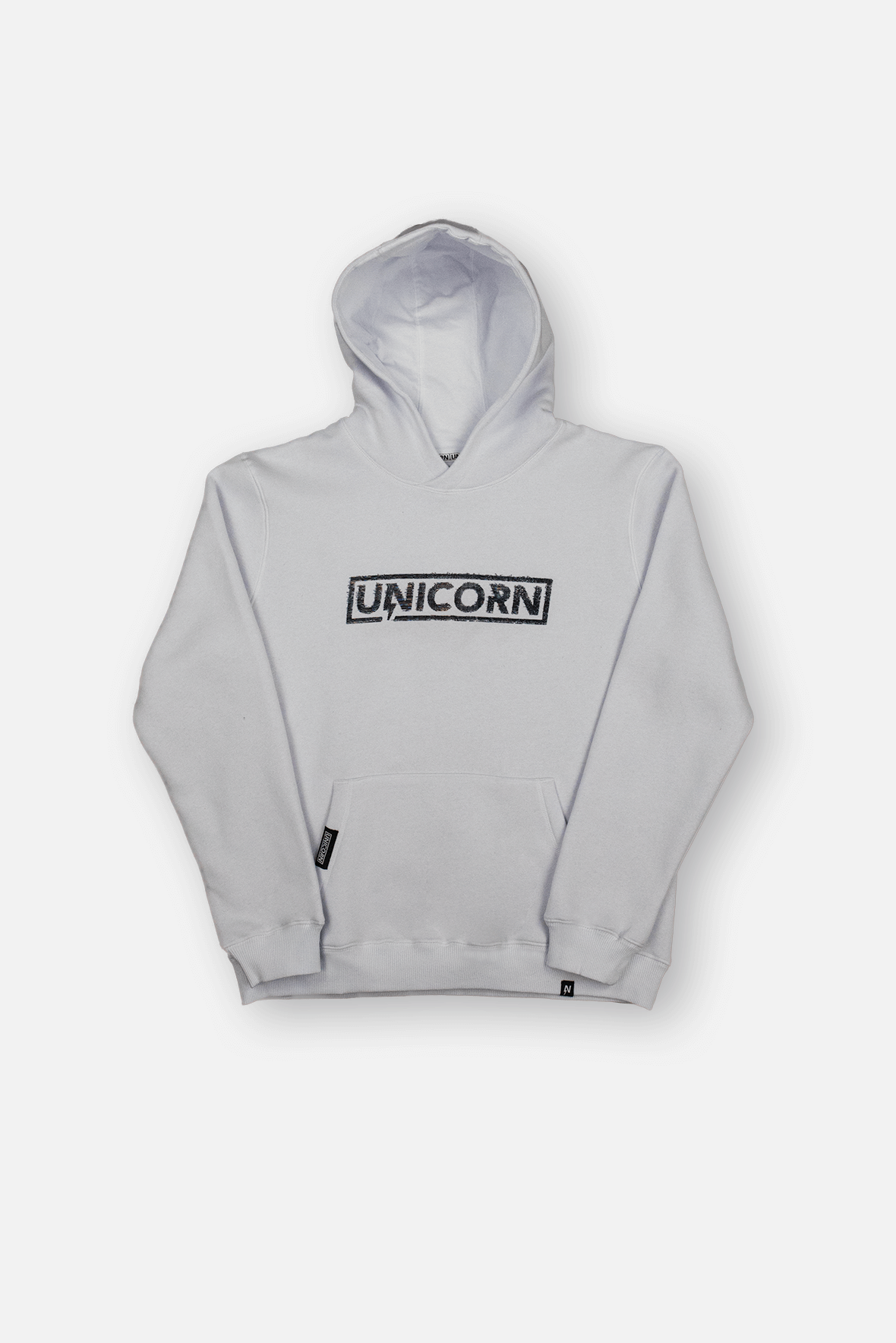 Sweatshirt Pro Glitch Blanc