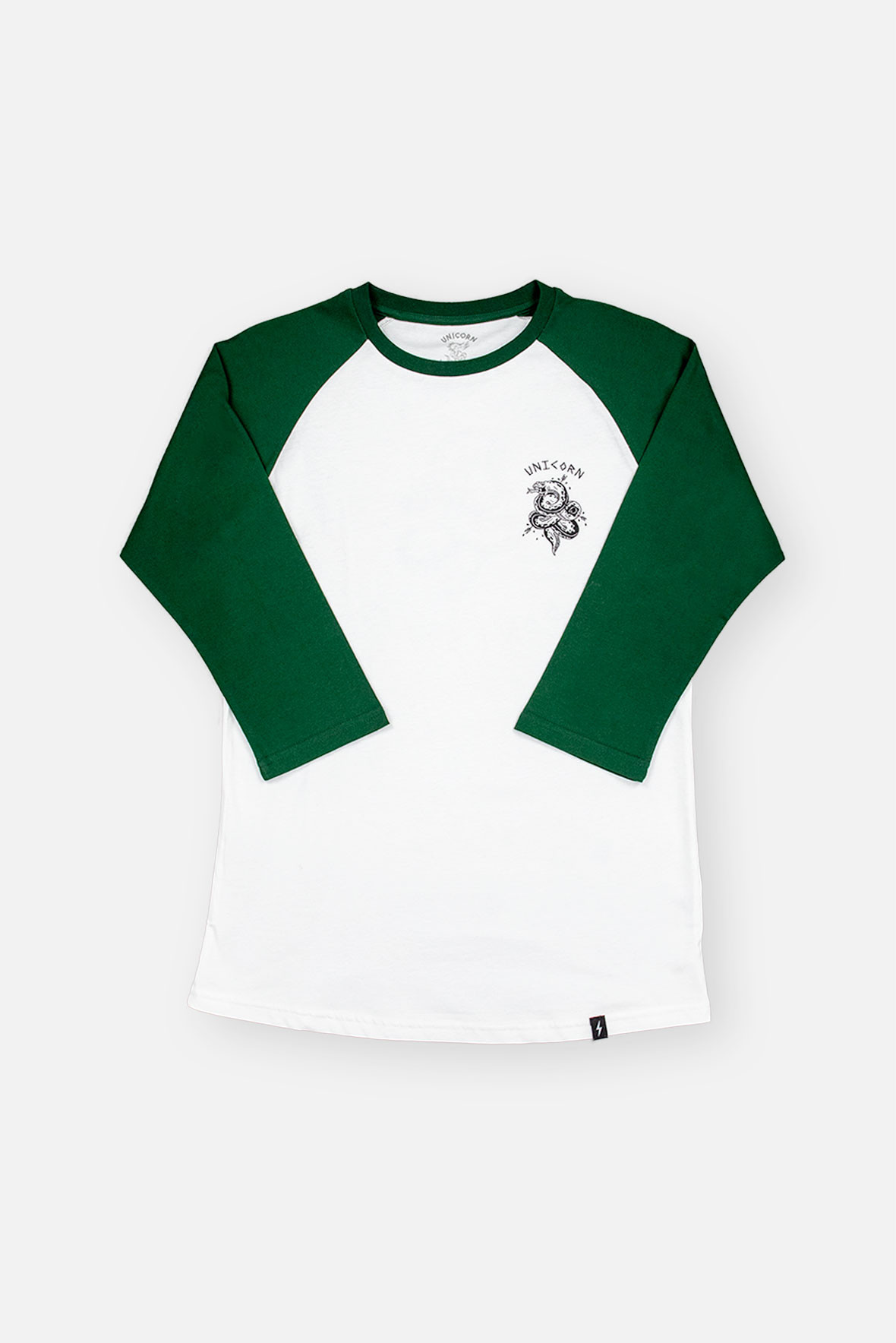 Raglan Don't Snake Green