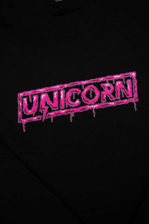 Sweat Capsule Zombie Rose Zoom de face Unicorn