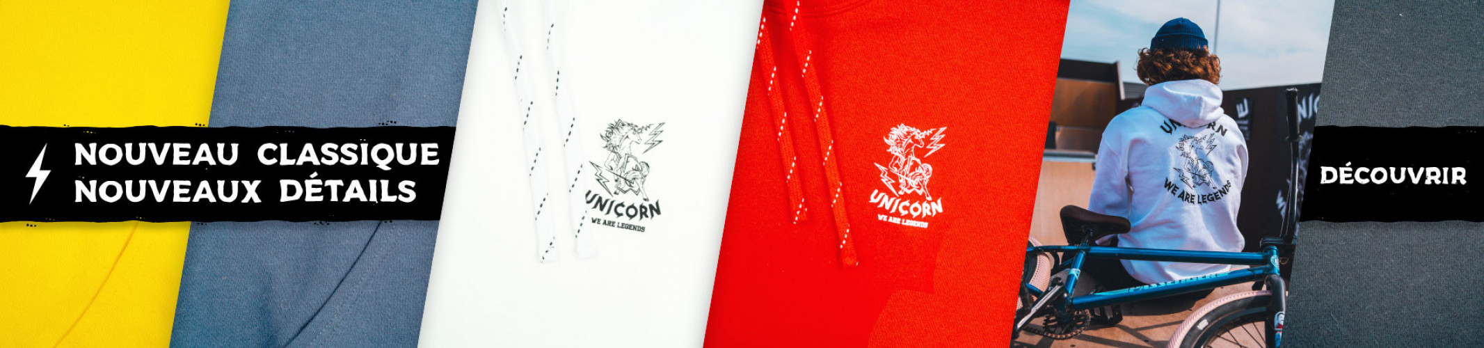 Classic One - T-shirts, sweats et accessoires - Unicorn we are Legends