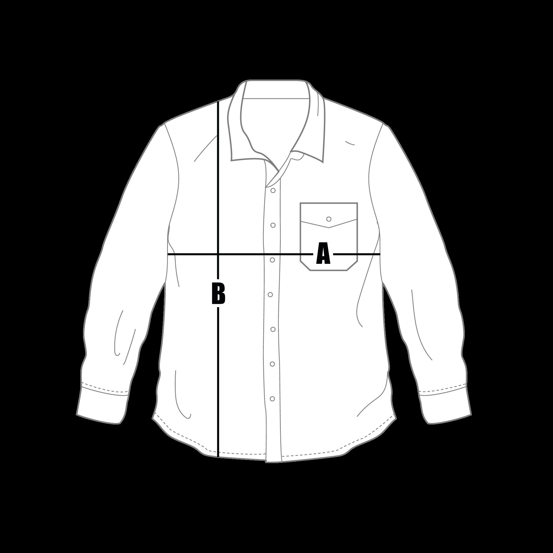 Guide des tailles chemises grece